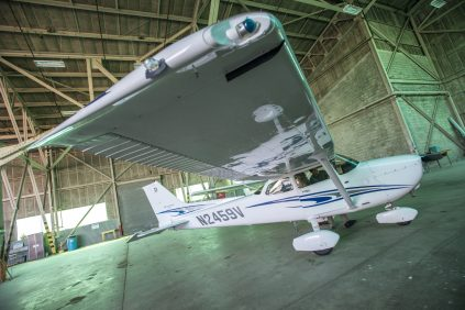 two person Air Plane built at UMaine